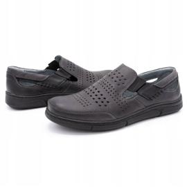Polbut Gray men's summer shoes J53 grey 5