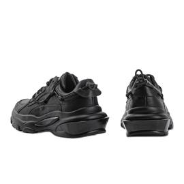 Allie black sneakers 2