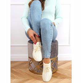 Beige PC01 LT.BEIGE sock sports shoes 2
