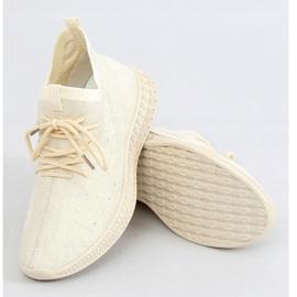 Beige PC01 LT.BEIGE sock sports shoes 1