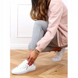White women's sneakers C2006 White 3