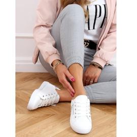 White women's sneakers C2006 White 2