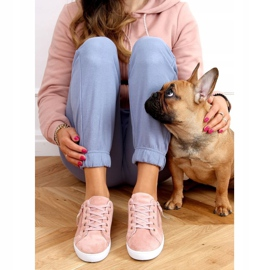 Pink women's sneakers C2006 Pink 3