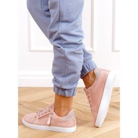 Pink women's sneakers C2006 Pink 2