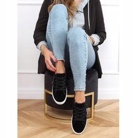 Black women's sneakers C2006 Black 3