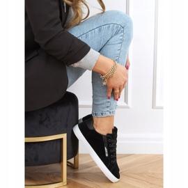 Black women's sneakers C2006 Black 2