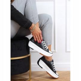 Designer sneakers with black VL138 Black sole 2