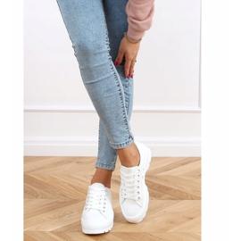 White women's sneakers LA138 White 2