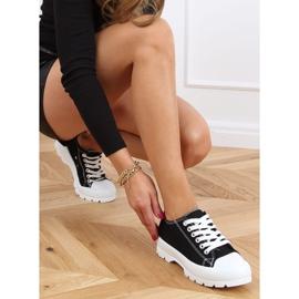 Black women's sneakers LA138 Black 2