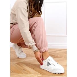 White women's sneakers LA134 White 3