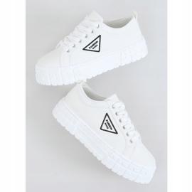 White women's sneakers LA134 White 1