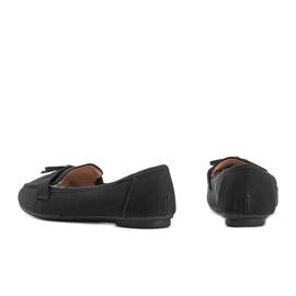 Lena black suede loafers 2