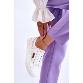 Women's Lace Sneakers Big Star W274925 White 9