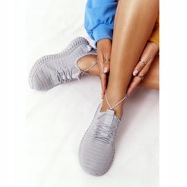 PS1 Women's Sport Shoes Slip-on Gray Do It grey 5