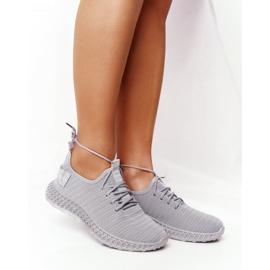 PS1 Women's Sport Shoes Slip-on Gray Do It grey 7