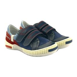 Boys' shoes Bartek 85585 navy blue red multicolored 4