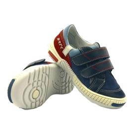 Boys' shoes Bartek 85585 navy blue red multicolored 3