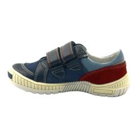 Boys' shoes Bartek 85585 navy blue red multicolored 2