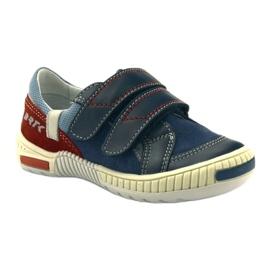 Boys' shoes Bartek 85585 navy blue red multicolored 1