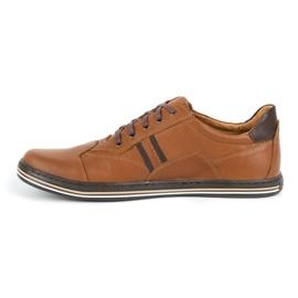 Polbut 1801L Ax Camel casual men's shoes brown 1