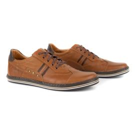 Polbut 1801L Ax Camel casual men's shoes brown 2