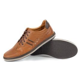 Polbut 1801L Ax Camel casual men's shoes brown 3