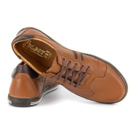 Polbut 1801L Ax Camel casual men's shoes brown 4