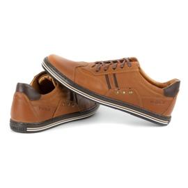 Polbut 1801L Ax Camel casual men's shoes brown 5