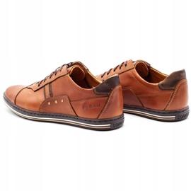 Polbut 1801L Ax Camel casual men's shoes brown 7