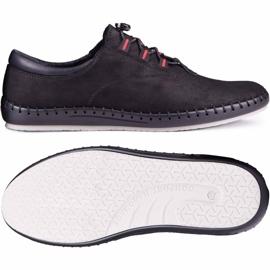 Kampol Black casual men's shoes 337/61 1