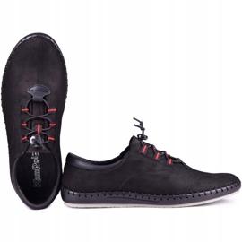 Kampol Black casual men's shoes 337/61 4