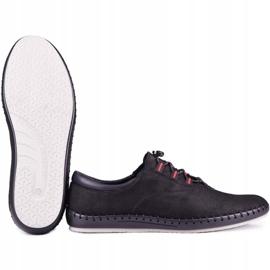 Kampol Black casual men's shoes 337/61 5