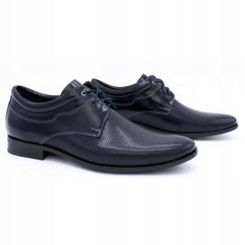 Olivier Formal shoes 1032 navy blue 2