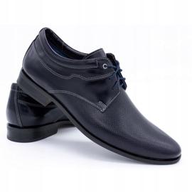 Olivier Formal shoes 1032 navy blue 4