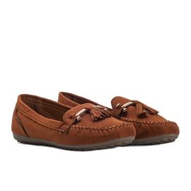 Aubrey brown suede loafers 1