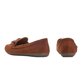 Aubrey brown suede loafers 2