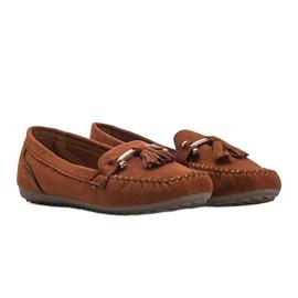 Aubrey brown suede loafers 3