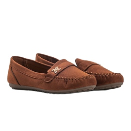 Maryam brown suede loafers 1
