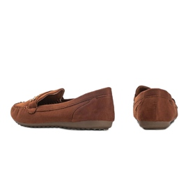 Maryam brown suede loafers 2