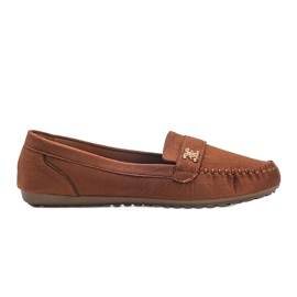 Maryam brown suede loafers 3