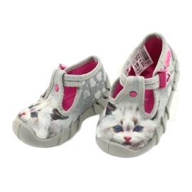 Befado children's shoes 110P416 pink grey 3