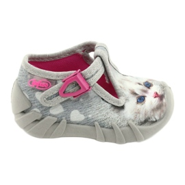 Befado children's shoes 110P416 pink grey 1