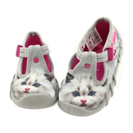 Befado children's shoes 110P416 pink grey 4