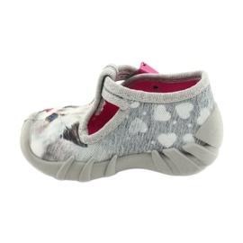 Befado children's shoes 110P416 pink grey 2