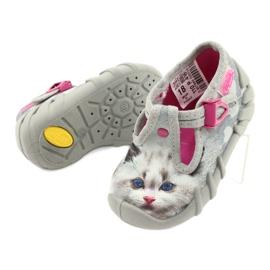 Befado children's shoes 110P416 pink grey 5