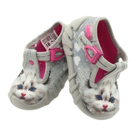 Befado children's shoes 110P416 pink grey 6
