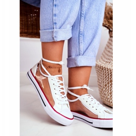 PS1 Women's Sneakers White Transparent Elements Grace colorless 2