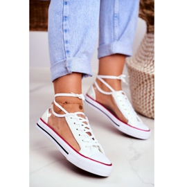 PS1 Women's Sneakers White Transparent Elements Grace colorless 1