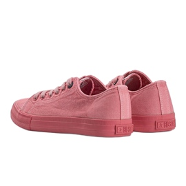 Big Star pink Carolyn sneakers red 1