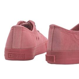 Big Star pink Carolyn sneakers red 2
